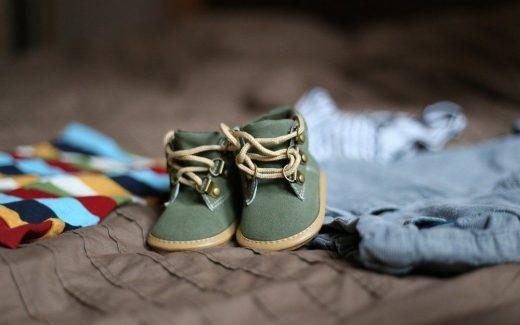 Fotriktiga skor för barn